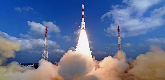 India launches its 100th satellite into orbit