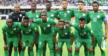 Nigeria drops one place in FIFA latest ranking