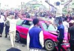 RIVERS: Protests erupt after policeman escorting chicken kills taxi driver