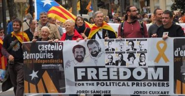 BARCELONA: Protests erupt as Spanish court jails 5 Catalan leaders