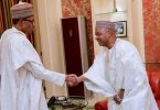 Ex-VP Sambo meets Buhari behind closed doors