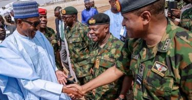INSECURITY: Buhari challenges security agencies to up their game