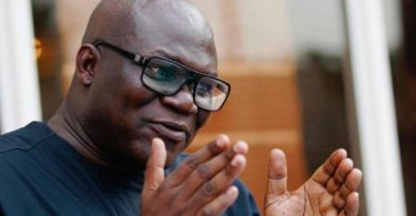very good pix of Reuben Abati