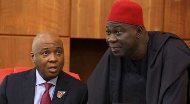 NASS INVASION: Saraki, Ekweremadu claim Nigerian govt hatching another plot