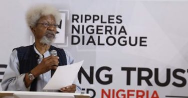 SOYINKA: Kámpálá tí è ní yèn', the riddle Jonathan left me with