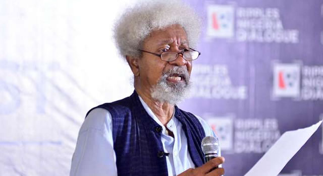 Image result for Choose between Abiola , Abacha, stop confusing us – Soyinka confronts Buhari