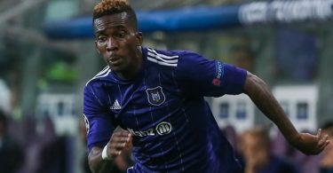 Anderlecht 'glad' to have Onyekuru back from injury