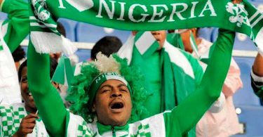 fifa super eagles fan