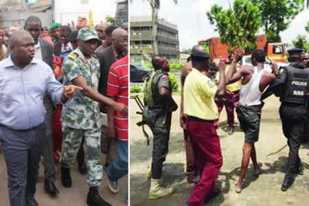 2 injured as LASTMA, 7up workers clash over Ambode