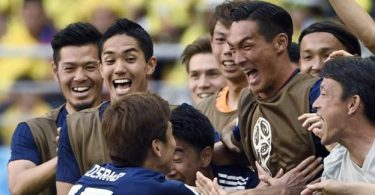 Colombia beaten by Japan at 2018 World Cup