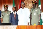 As insecurity persists, Buhari meets security chiefs for third time in the week