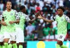 Super Eagles vs England