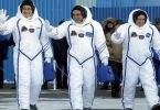 After 5 months of 2,600 orbits, 3 astronauts prepare to enter earth