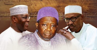 "LEAKED DOCUMENT! Did Ooni really call Buhari a ""jihadist"", and for probe of Atiku?"