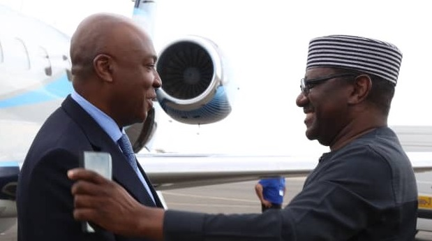 PHOTOSCENE: Saraki, others land Russia