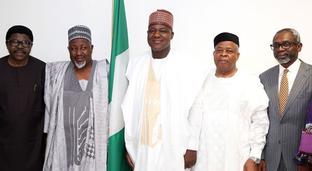APC National convention committee delegates visits Dogara