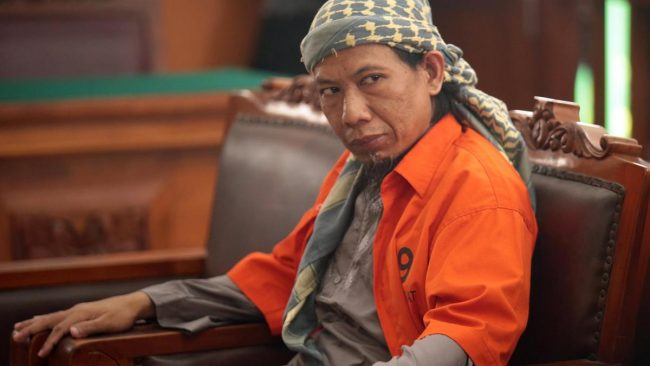 Indonesia slams Muslim leader with death sentence
