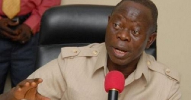 Image result for Saraki will be impeached legally - Oshiomhole vows