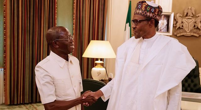 APC: The house Oshiomhole built and how it may crash Buhari's 2019 ambition