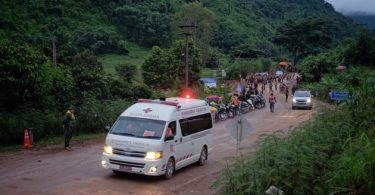 4 members of trapped Thai soccer team exit cave