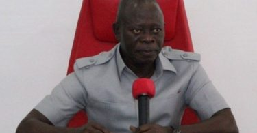 Oshiomhole refuses to accept Gov Ortom's defection from APC