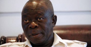 Saraki is a drowning man— Oshiomhole