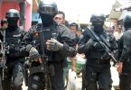 Anti-terrorism police shoot 3 suspected militants dead in Indonesian
