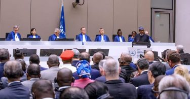 Buhari challenges ICC on corruption