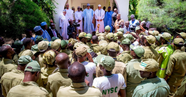 'NYSC is very good for Nigeria'— Buhari