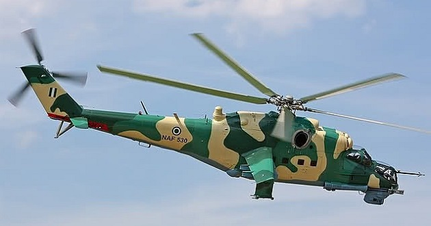 Military carries out air raids against bandits in Zamfara