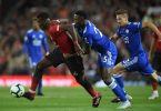 EPL: Manchester United v Leicester City - Ndidi vs Pogba