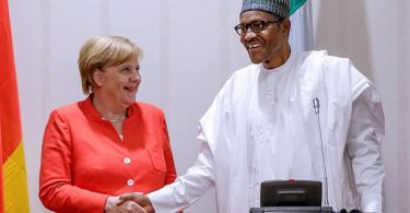 Nigerian migrants are not my concern, Buhari tells German Chancellor Merkel