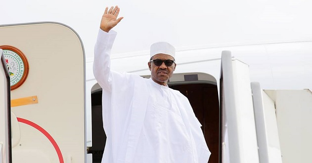 Amid defection drama Buhari leaves for London on holiday