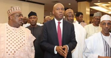 It's now official! Saraki declares to 'fight' Buhari for presidency seat (Video)