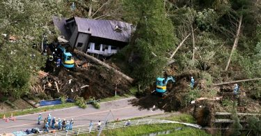 2 feared dead, dozens missing as powerful earthquake triggers landslides in Japan