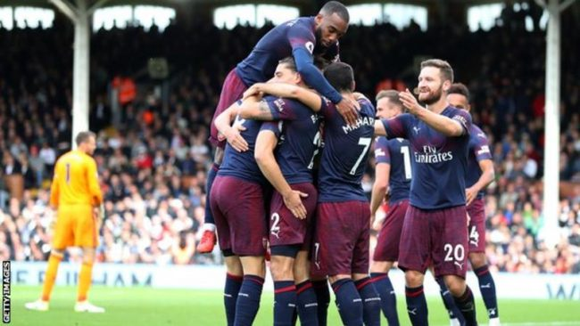 Lacazette shoots Arsenal into Europa League semi-finals
