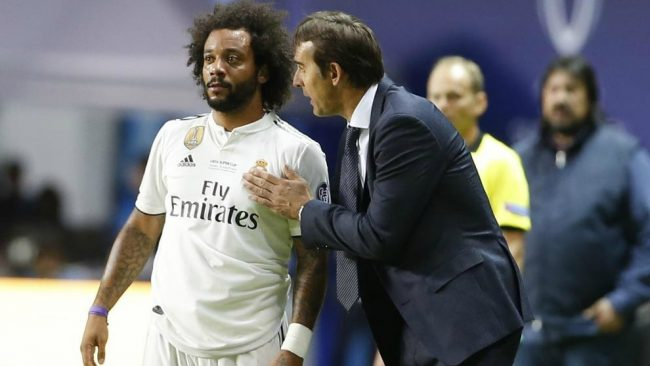 Marcelo and Lopetegui