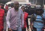 Heavy security as Fayose arrives Lagos Court