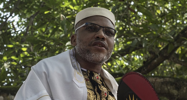 Presidency speaks on Nnamdi Kanu's re-appearance