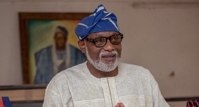 Akeredolu hits Oshiomhole hard, says he's incompetent, with penchant for banditry, impunity