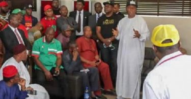 PDP PRESIDENTIAL PRIMARIES: Turaki begs delegates to vote for Saraki