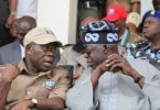 Oshiomhole appears to affirm Lagos APC primary as state chairman declares Sanwo-Olu winner