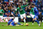 Balogun benched for Brighton