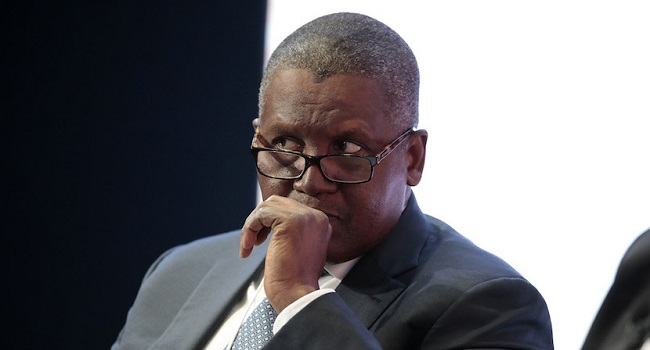 Rain causes havoc on Dangote's $4.5bn refinery