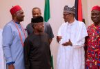 Ekweremadu, South East Govs meet Buhari behind closed-doors