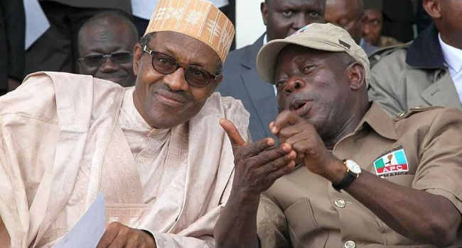 Buhari disagrees with Oshiomhole, says aggrieved members right to go to court