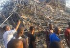 JUST IN: Seven-storey building collapses in Port-Harcourt, 60 feared trapped