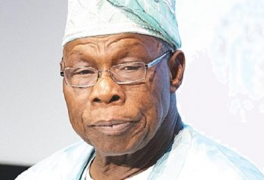 'My son in whom I am well pleased', Obasanjo endorses ADC candidate for Ogun guber