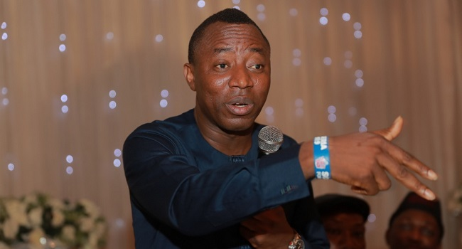 MINIMUM WAGE: Sowore dismisses 'Facebook Economists', offers salary calculator