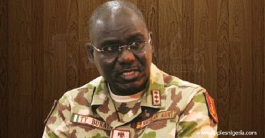 Buratai begs Reps to help remove ceiling on Army budget